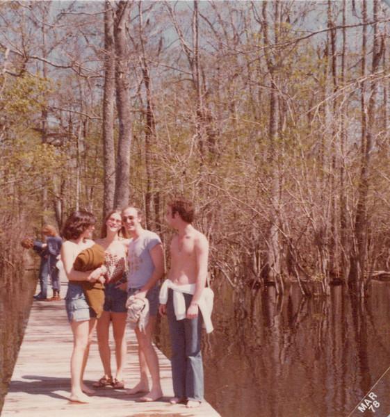 Spring 1978 Florida Teri, Elaine, Ken Kris.jpeg