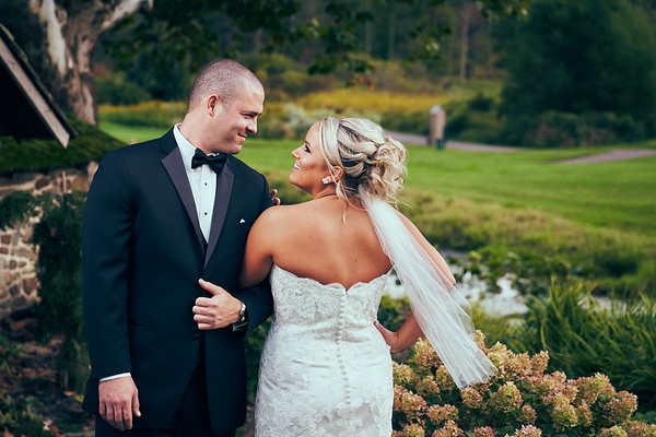 Kayleigh and Brent, French Creek Golf by Gino Guarnere