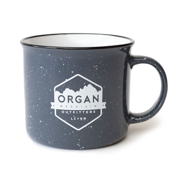Outdoor Apparel - Organ Mountain Outfitters - Bottles and Mugs - Ceramic Mug - Speckled - 15 oz - Slate Grey.jpg