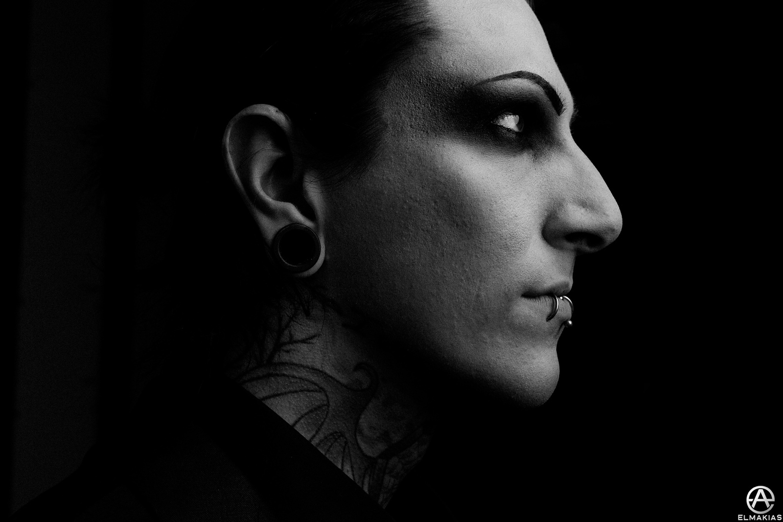 Chris of Motionless in White - The Parks And Devastation Tour by Adam Elmakias