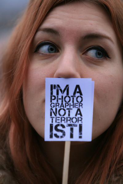 I am a Photographer not a terrorist - event Jan 2010