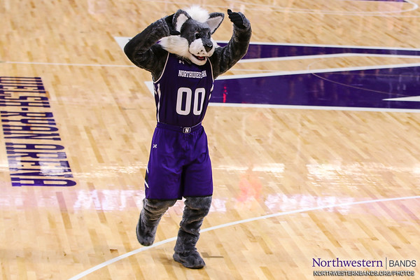 Willie Welcomes You to Welsh-Ryan Arena at Northwestern