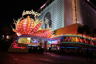 Vegas Strip At Dawn