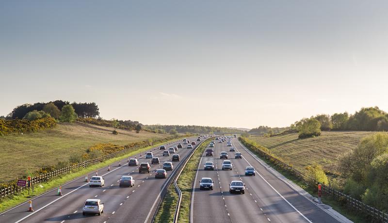 A3 traffic in Surrey