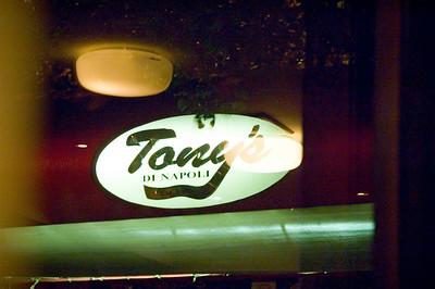 Dinner at Tony's