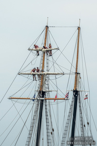 On the Rigging    Photography by Wayne Heim