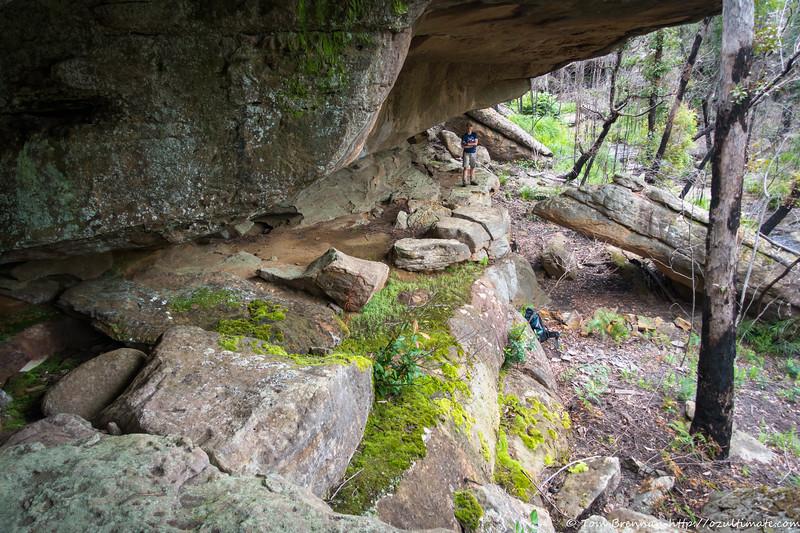 Yep, a good camp cave!