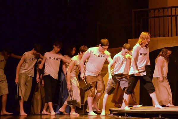 TRHS Les Miserables Dress Rehearsal