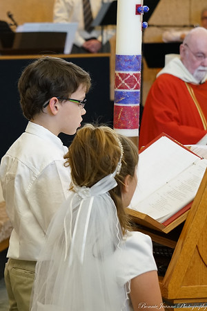 Mass part II and First Communion