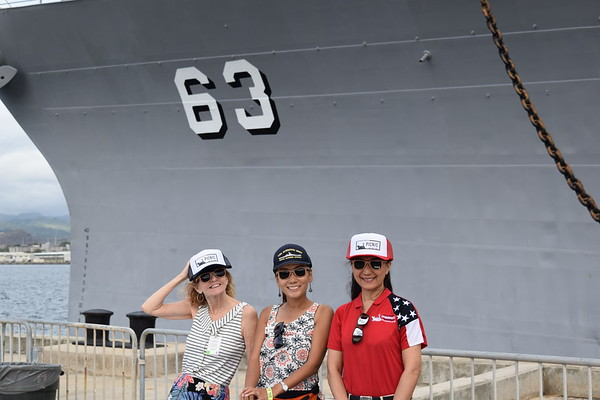 USS Missouri BB-63 Picnic on the Pier 6-21-19