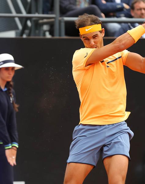 Nadal - ball felt contrails