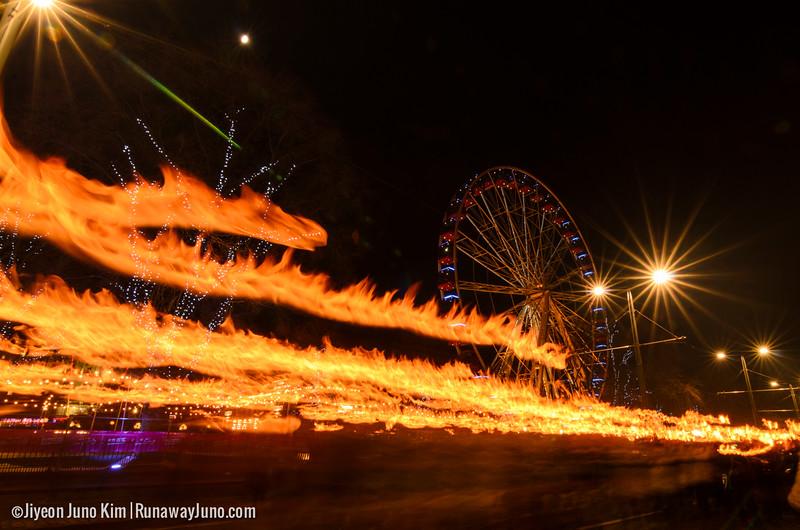 Edinburgh's Hogmanay Torchlight Procession 2014/15
