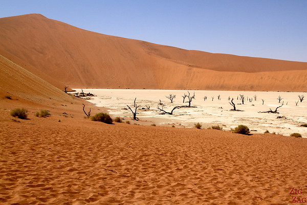 Best places to see Namibia: Deadvlei
