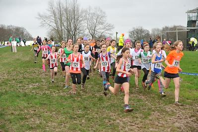 Under 11 Girls - Hants X/C Championships