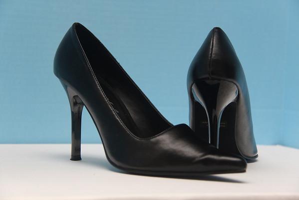 Highest Heel Collection Black Pumps