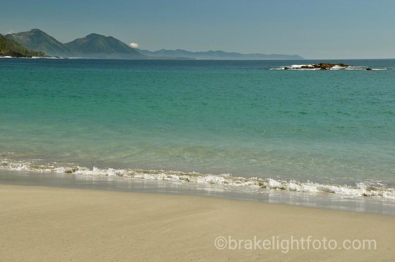 Looking at Kwakiutl Point from Grant Bay