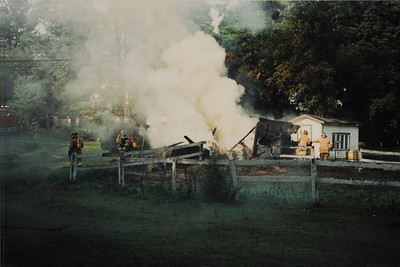 Summer 1991 - Fire on 13 Mile Road