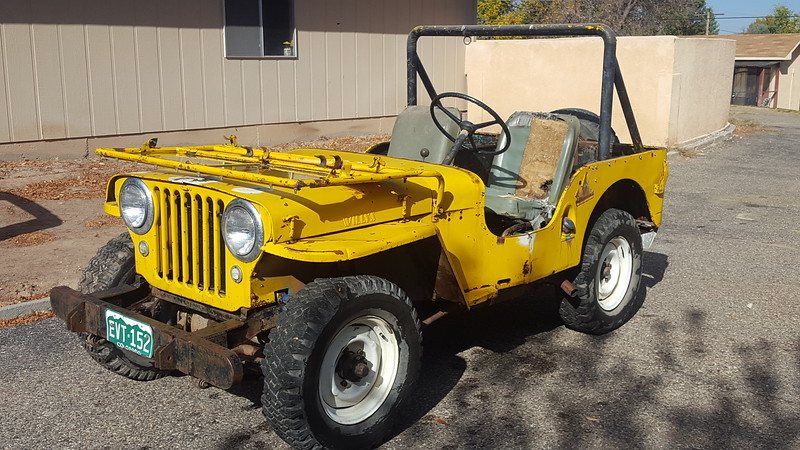 1948 Willys CJ2a - Ole Yeller