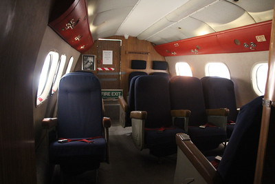 Interior Flying Boat in museum