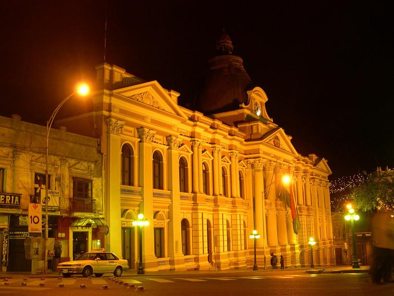 La Paz Government Square