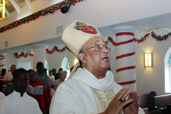 St. Andrews  Anglican Church - New Priest Induction Ceremony - George Town, Exuma, Bahamas