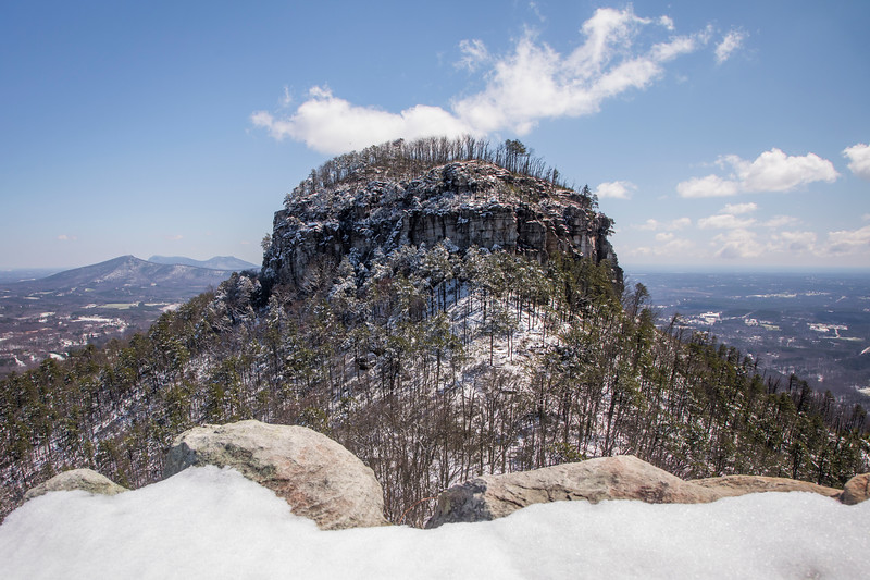 Snowy Pilot Mountain