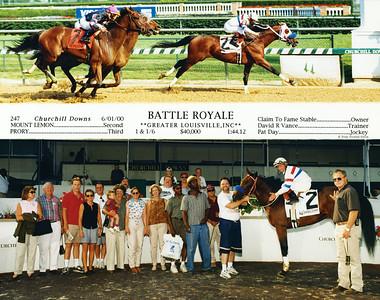 BATTLE ROYALE - 6/01/2000