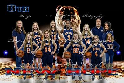 8th Grade Girls Basket Ball