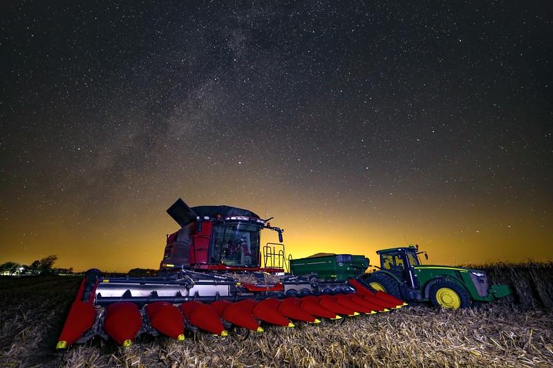 Harvest Milky Way