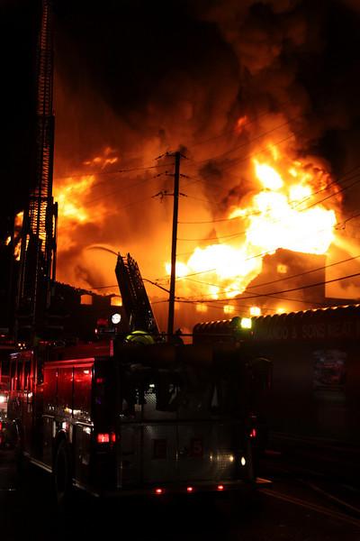Pawtucket, RI - General Alarm, 125 Goff Ave, 10-13-10