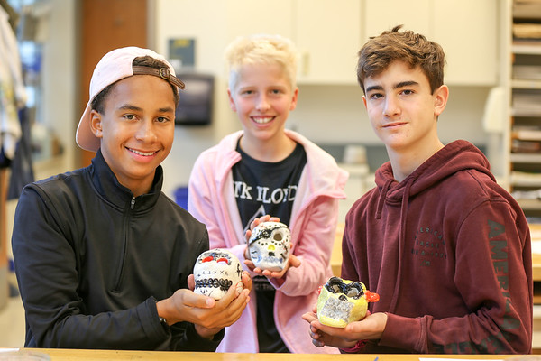 WMS Calaveras for Day of the Dead - October 31, 2019