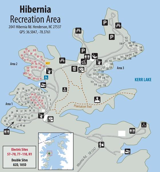 Kerr Lake State Recreation Area (Hibernia Recreation Area)