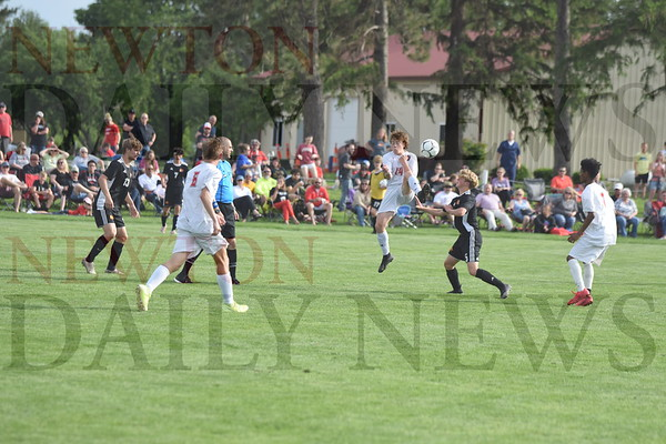 Newton Boys Soccer at Grinnell 5-24-21