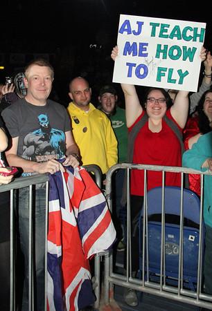 Fans in Nottingham