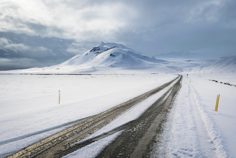 Western Iceland Region in Winter 2015
