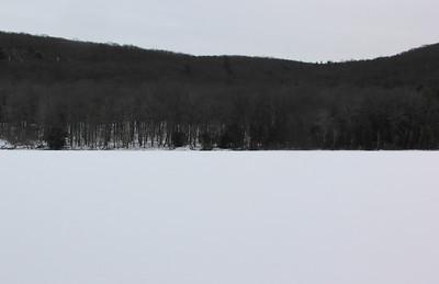 Frozen Tuscarora Lake, State Park, Tuscarora (1-30-2014)