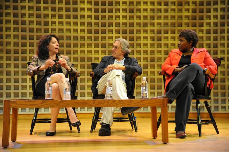 Commencement speakers:  Bonnie Bassler, Robert De Niro, Gwen Ifill