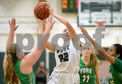 Glenbard West girls basketball