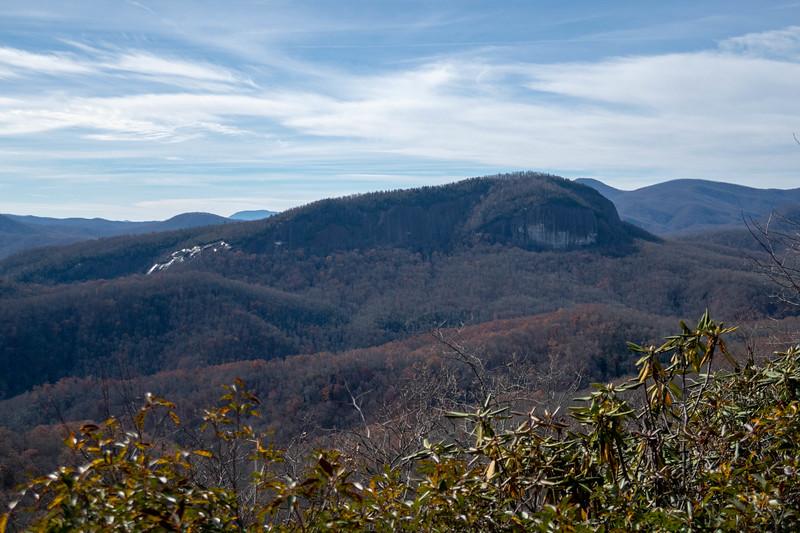 Coontree Loop & Overlook Rock, Transylvania County (11-25-18)