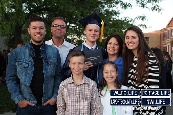 Marquette Catholic High School Graduation 2017