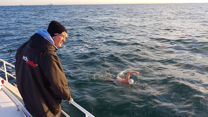 Fundraising - English Channel Relay