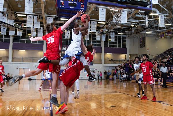 Broughton boys varsity basketball vs Sanderson. Play 4 Kay. January 17, 2019. 750_4745