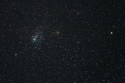 2018/09/14 Comet 21P/Giacobini-Zinner and M35 conjonction at Westmeath Lookout