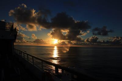 Day at Sea Oct 23