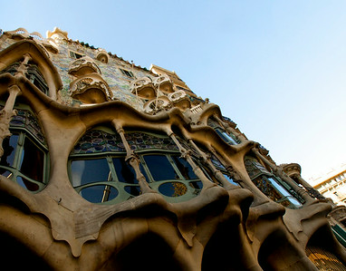 Gaudi  in Barcelona