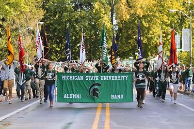 2015 MSU Alumni Band PreGame Parades