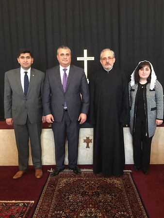 Armenian Ambassador visits St. James