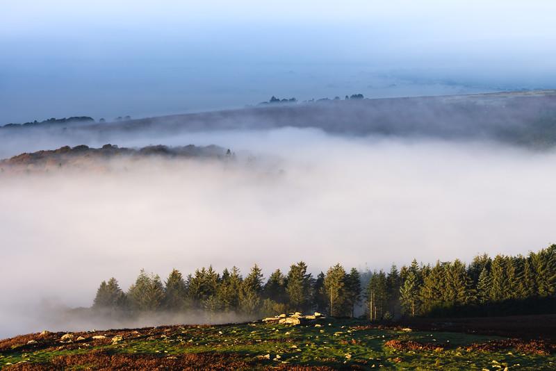 Sheeps Tor Fog I