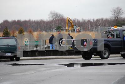 Van in water, Bay Park 3-31-2010