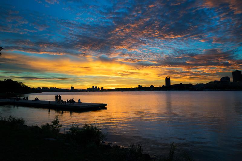 Charles River Sunset